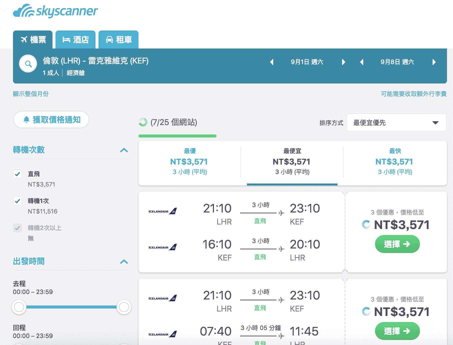 網站近期文章:冰島航空特價中,9月起~12月,倫敦飛冰島完全特價,最低3.5K~(查票107.4.21)
