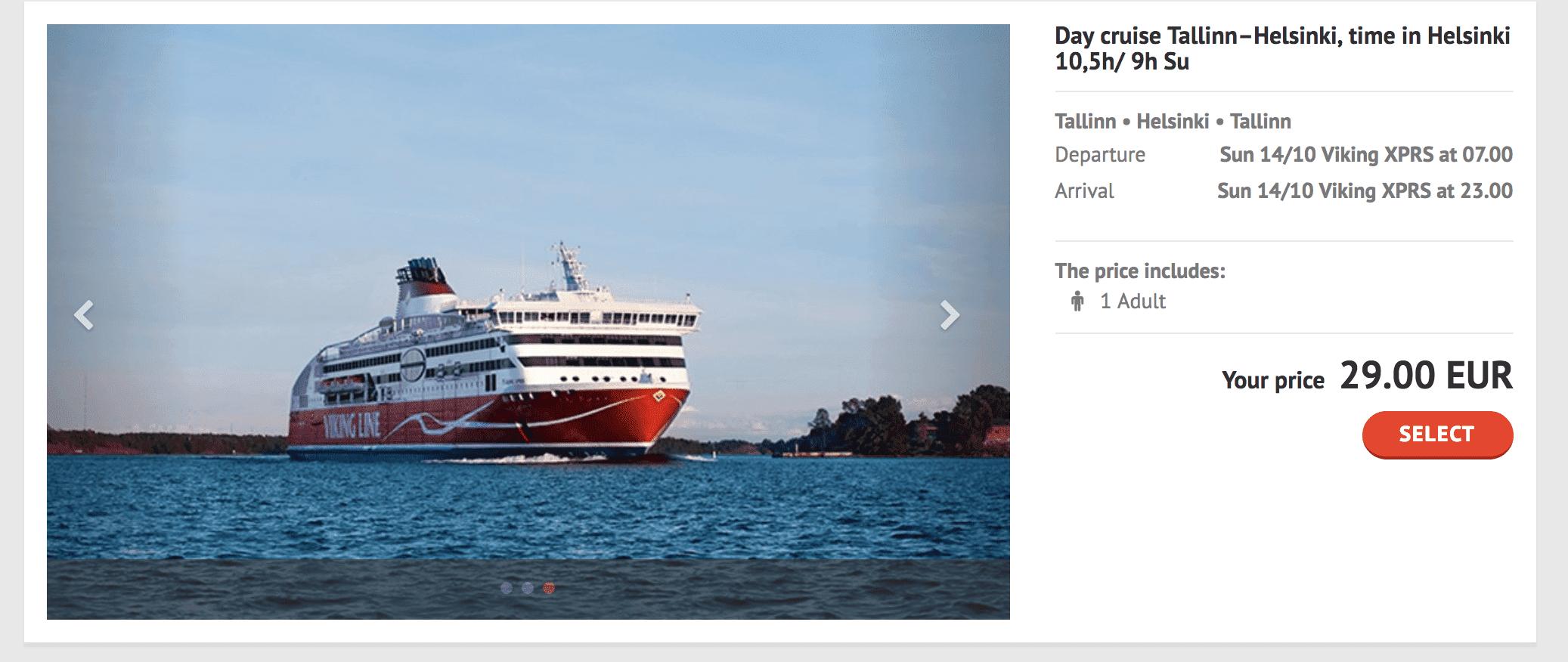 2018塔林到赫尔辛基交通|viking line船票订购教学、搭乘纪录与相关建议~