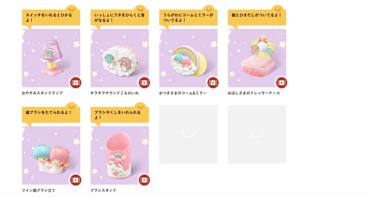 日本麥當勞Little Twin Stars小夜燈、迷你化妝臺收納盒,1/11起限定開賣!