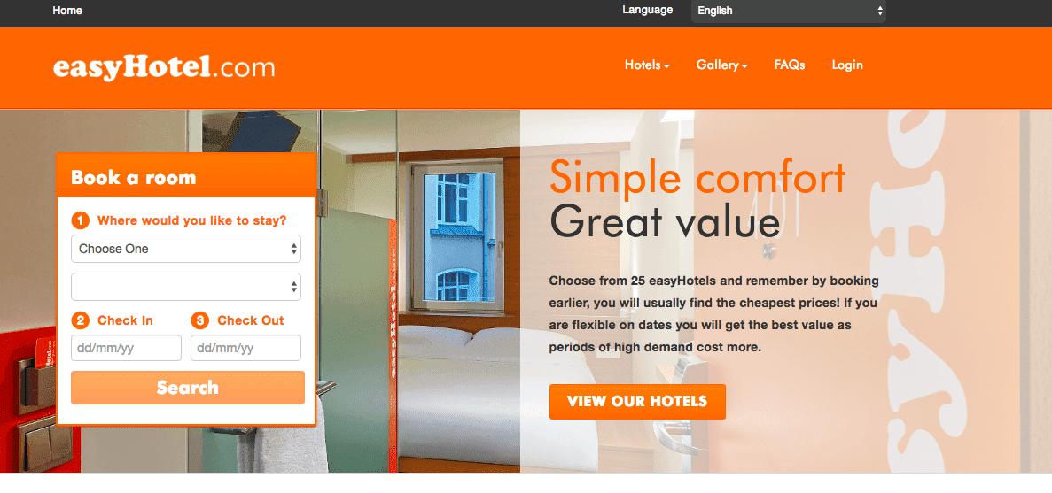 (歐洲住宿特價)平價旅館easyhotel 2017年3~5月入住限時特價中。最低單人19.99磅起~倫敦、阿姆斯特丹、布魯塞爾、鹿特丹、伯明罕、曼徹斯特等省錢乾淨住宿~