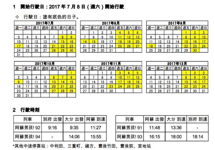 九州觀光特色列車|鐵道迷家族搜集觀光列車行動・來九州怎麼可以放過JR特色火車?
