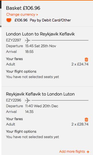 2017~2018.03Easyjet倫敦來回冰島兩人同行優惠~便宜玩冰島,不用多花你2000元台幣~