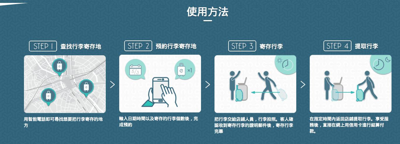 空手遊日本|Ecbo cloak,行李走到哪、寄到哪!行李界的Airbnb~