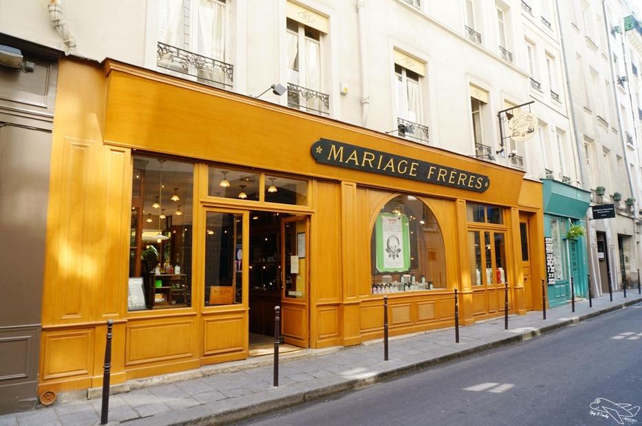 [巴黎必買]法國國寶茶 瑪黑區景點 瑪黑兄弟茶本店 瑪黑茶博物館 精品沙龍餐點 中文服務~法國知名必買茶品、法國甜點午茶名店~Mariage Frères(MF)