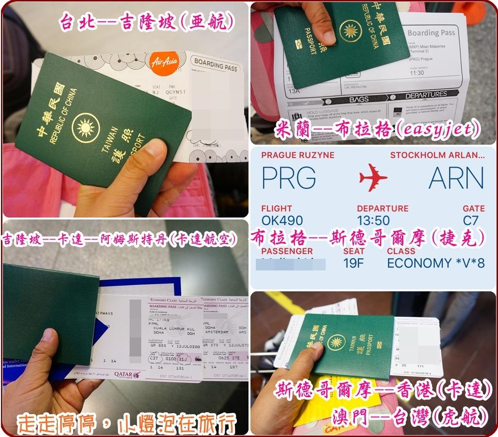 環遊世界機票/歐洲便宜機票/開口機票/open jaw/外站出發/環遊歐洲