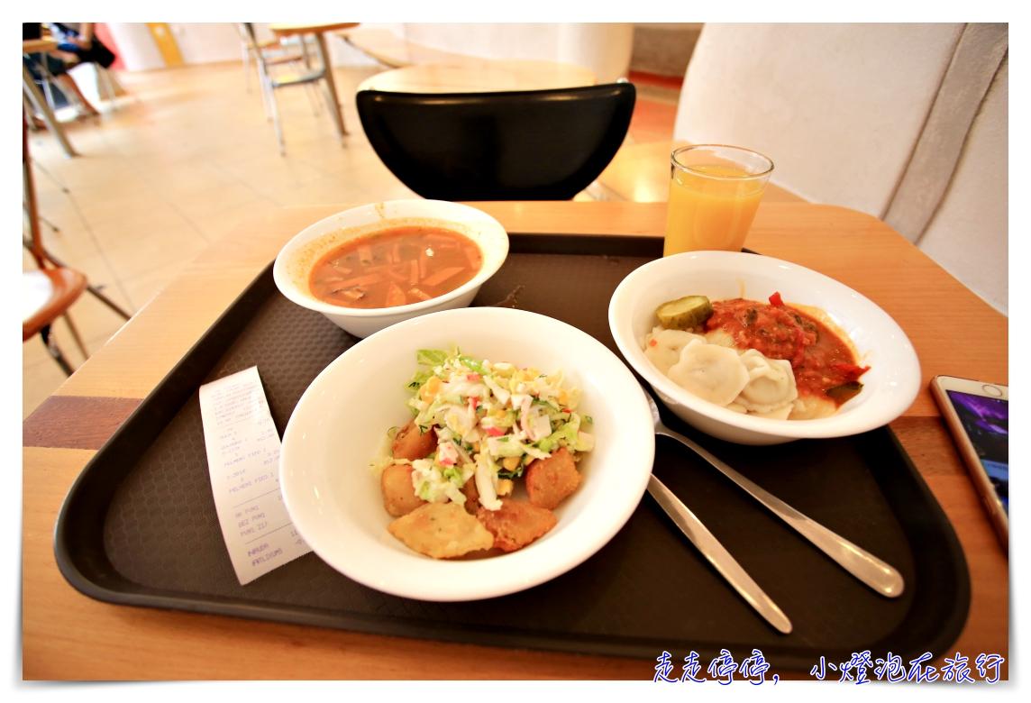 里加省錢餐廳|XL Pelmeņi 背包客的午餐聖地,里加老城區俄羅斯餃子體驗美食 @走走停停,小燈泡在旅行