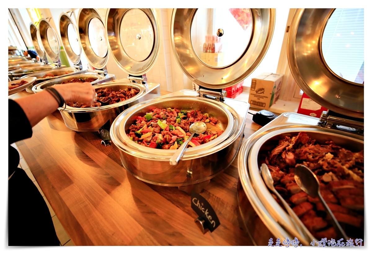 赫爾辛基中式自助餐part2|Biáng!stockmann百貨裡,免費廁所可用~精緻中式吃到飽11歐元~
