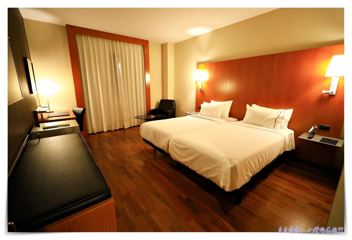 西班牙巴達霍斯住宿|Hotel AC Badajoz,萬豪系列住宿。西班牙葡萄牙邊境城市住宿推薦~
