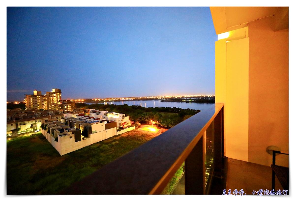 台南大員皇冠假日酒店|安平地區質感飯店,服務好、房間View景佳、空間感與舒適感~