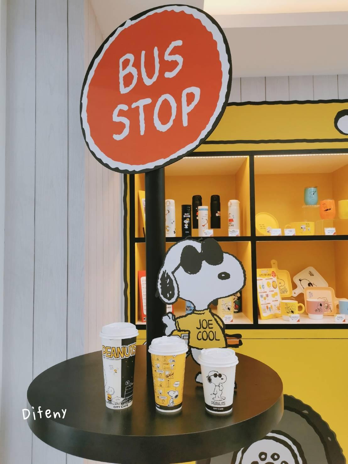 史奴比7-11,太萌太可愛,snoopy迷不可錯過的小七分店,整個店都是snoopy啊~