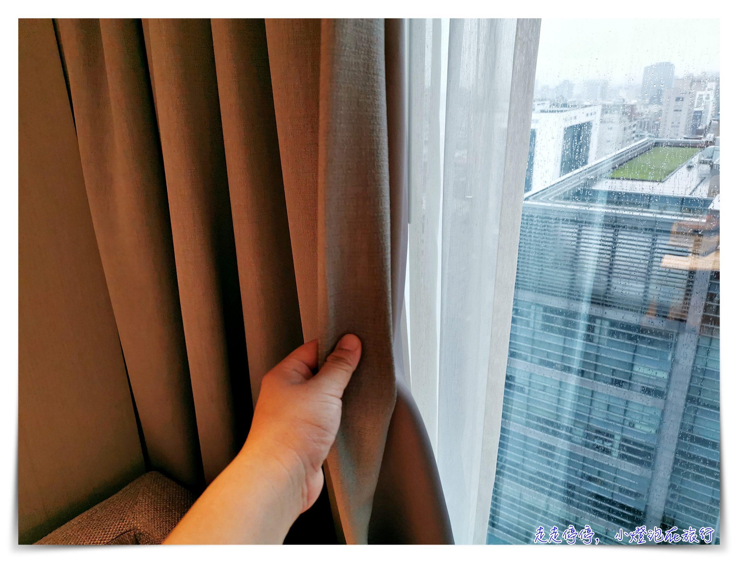 台北國泰萬怡酒店|萬豪會員入手好飯店、101View景房,近行天宮~床超好睡、房間好眠感無敵~