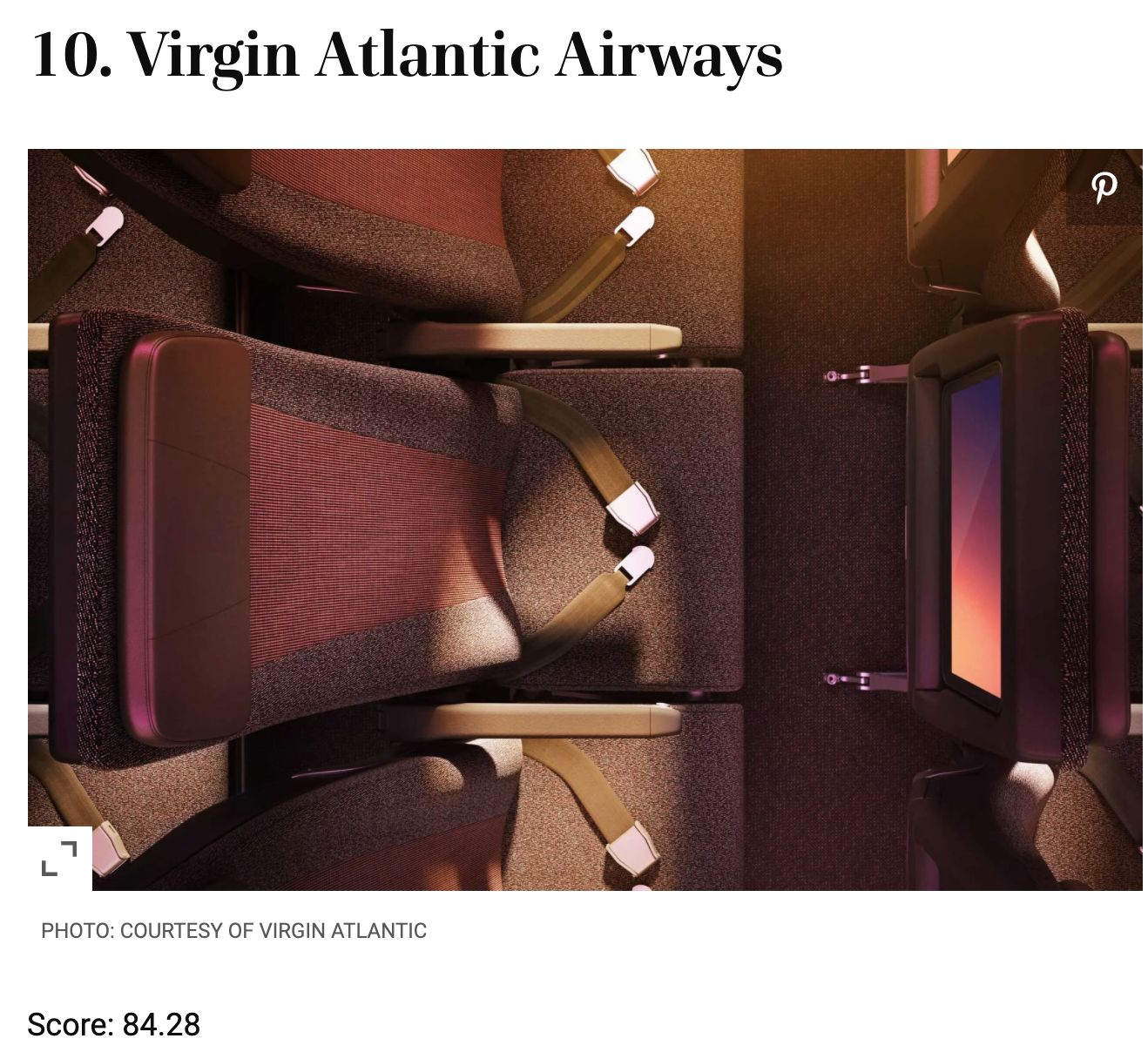 2020票選世界十大航空公司|你猜第一名是誰?travel+ leisure投票結果公佈~ @走走停停,小燈泡在旅行