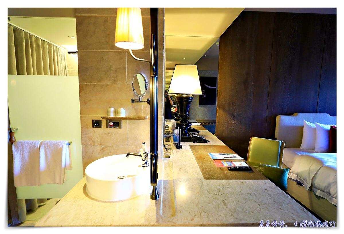在台北遇上歐洲|「君品酒店」,雅緻客房/行政客房,含早餐~整個飯店都是博物館~