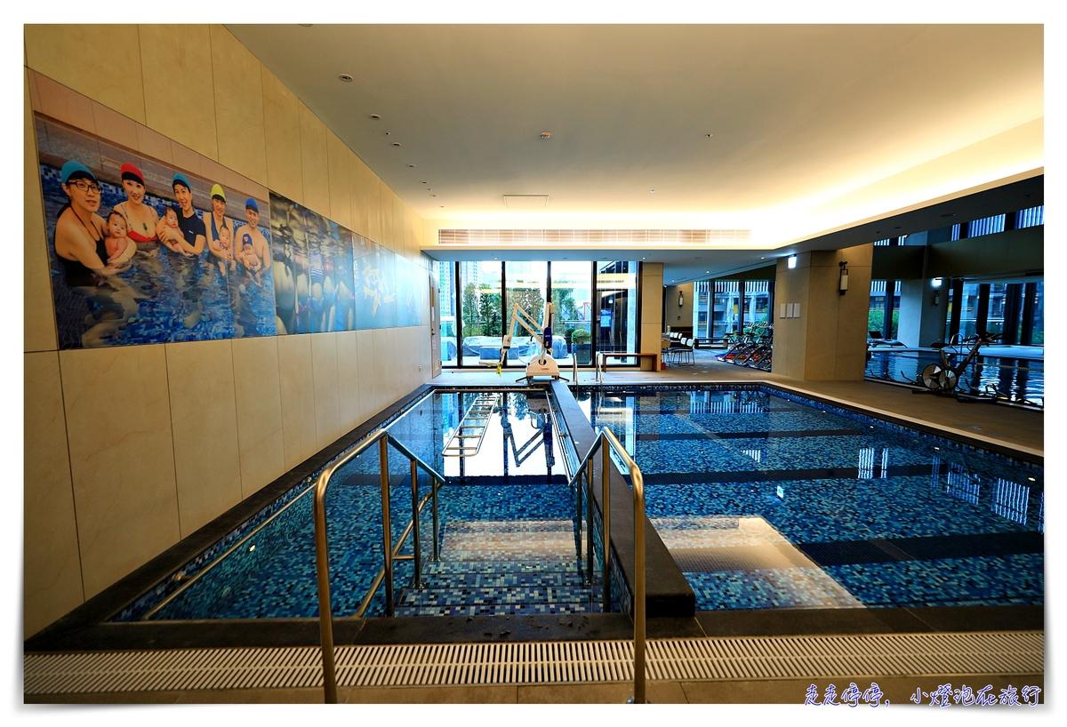 傑仕堡商旅板橋館游泳池