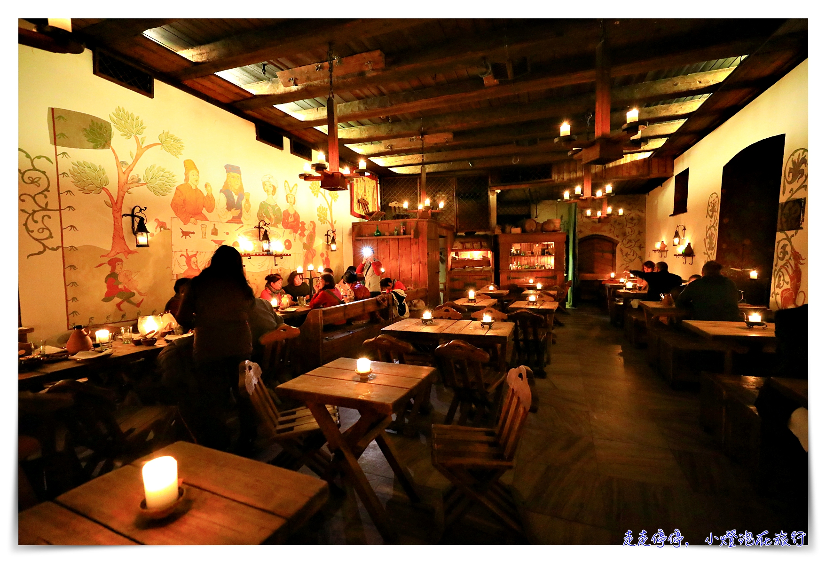 老漢薩餐廳|Olde Hansa Restoran 塔林15世紀古老餐廳