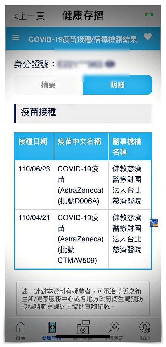 國內版疫苗護照|Covid-19通行證,整合於健保快易通APP~