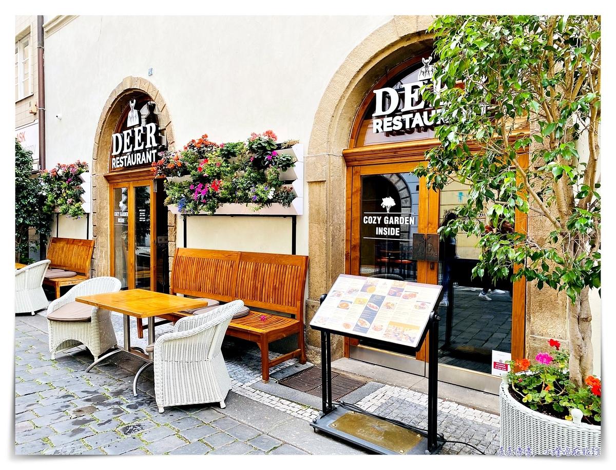 布拉格老城區超推薦餐廳 Deer Restaurent,Iron Gate Hotel & Suites餐廳,氣氛好、價位合理、近老城廣場