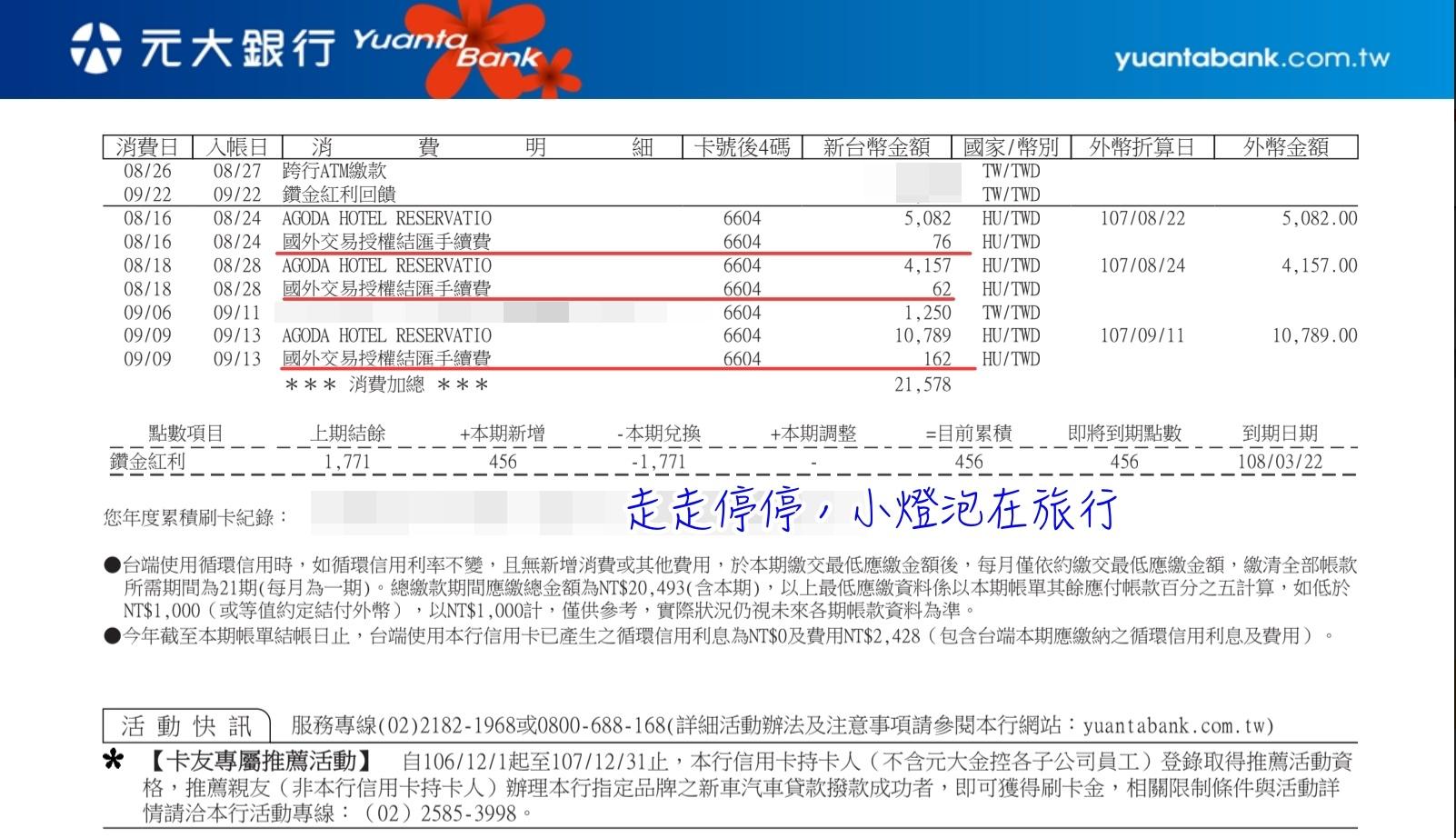 即時熱門文章:Agoda訂房國際海外刷卡手續費如何申請退費補償?
