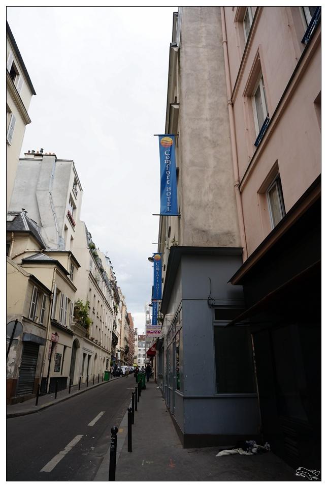 (巴黎北站住宿)Comfort Hotel Paris Lafayette舒適酒店(另有廚房房型)。巴黎北站步行10分鐘安全住宿。近歌劇院區。