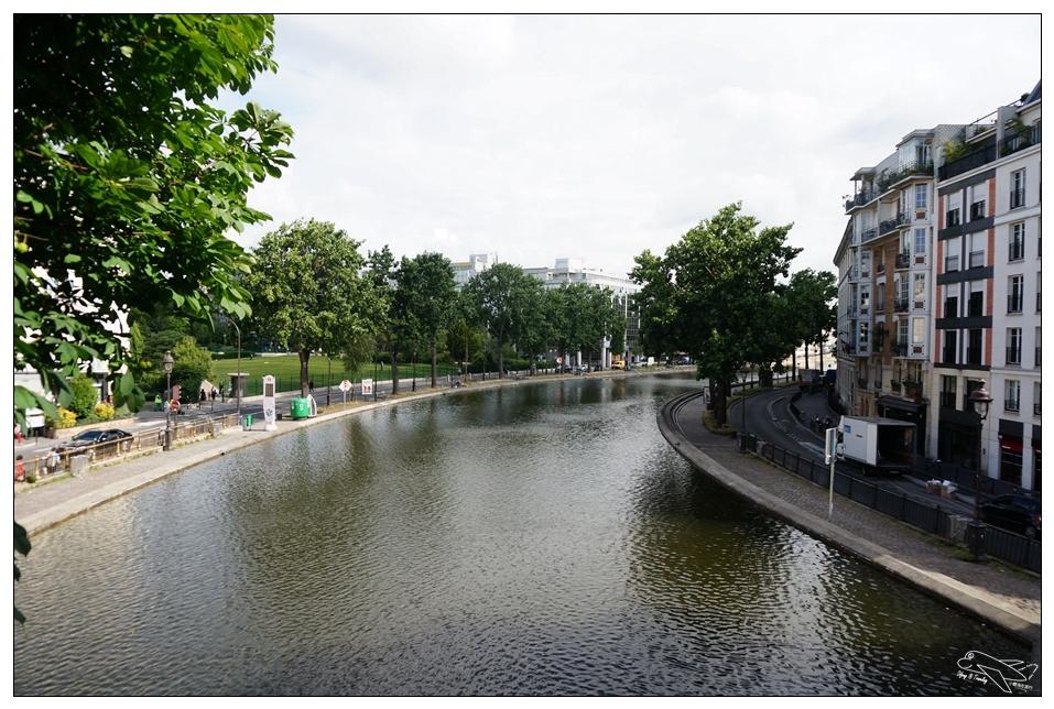 (巴黎自助景點)文青必去!聖馬丁運河。從巴黎東站Gare De l'Est開始~