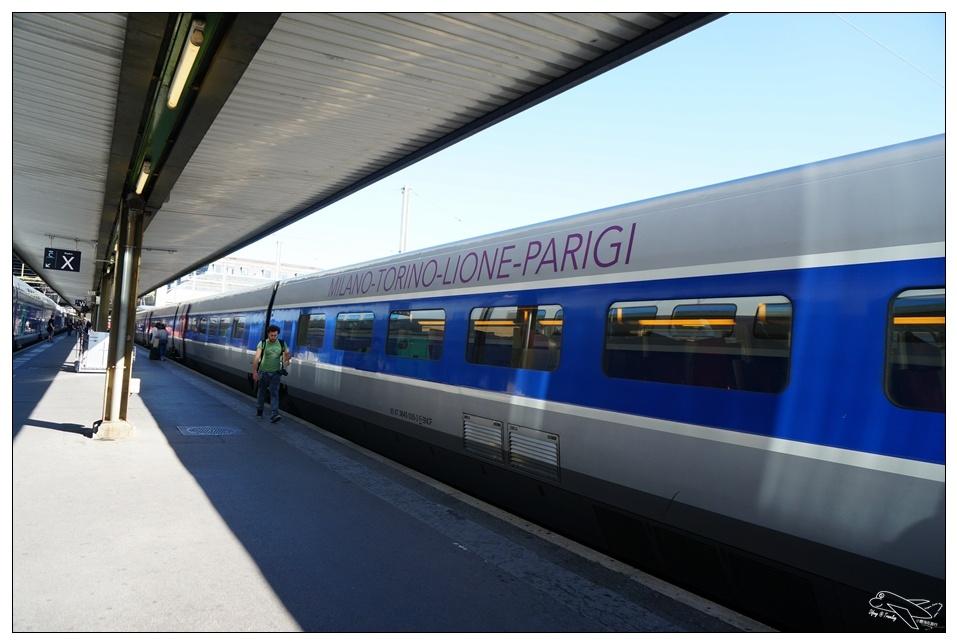 巴黎到米蘭TGV搭乘記錄|9小時長程火車,是旅行的里程碑