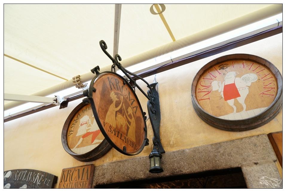 CK地窖餐廳|歐洲最美小鎮、最熱門豬腳大餐~KRČMA V ŠATLAVSKÉ