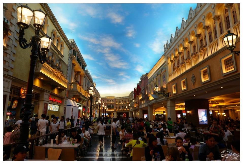 即時熱門文章:澳門自助|世界豪華的購物中心繁盛街美食廣場~威尼斯人大運河購物中心~