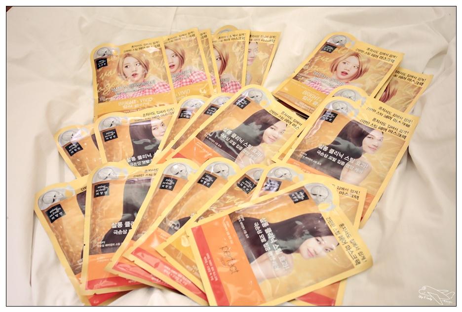 韓國必買美妝|最夯Mise en scene美強生蒸氣護髮膜・讓你用少少的錢延長去美容院護髮的時間~週週護髮,閃閃動人!