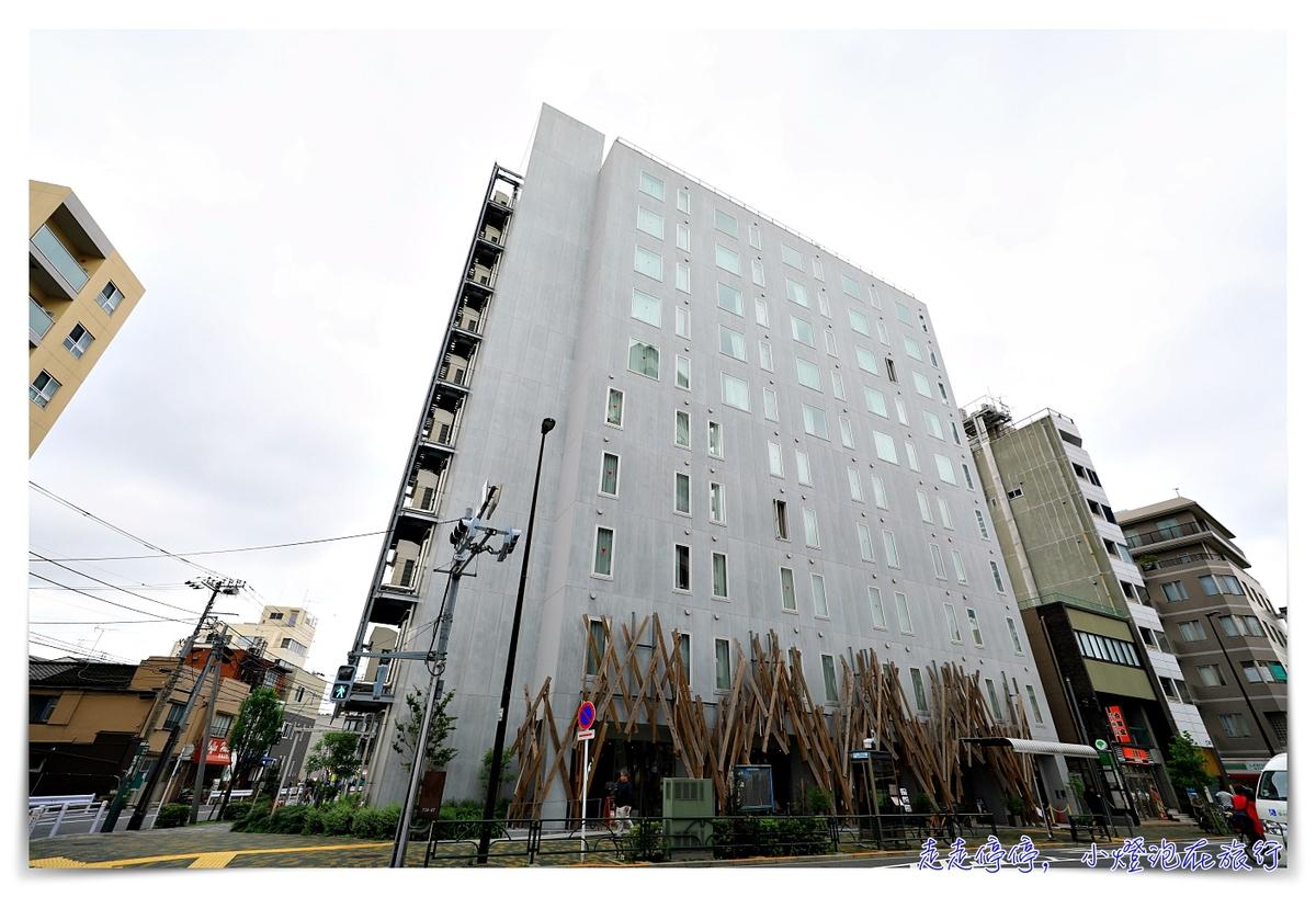 晴空塔夜景住宿推薦|One@Tokyo,隈研吾設計飯店,最值得入住的東京市中心飯店~
