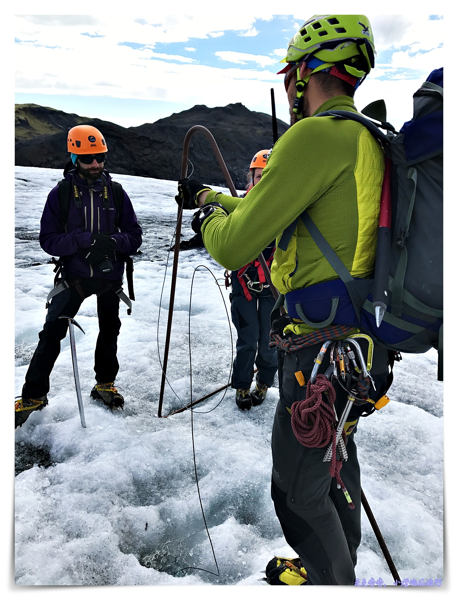 冰島自助行程|令人永生難忘的冰島solheimajokull glacier冰川健行、冰壁攀岩~差點成為世界第一~