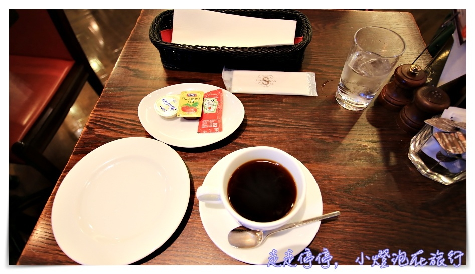 京都第一名早餐|進進堂三条河原町店,麵包籃吃到飽~進々堂,京都百年麵包店