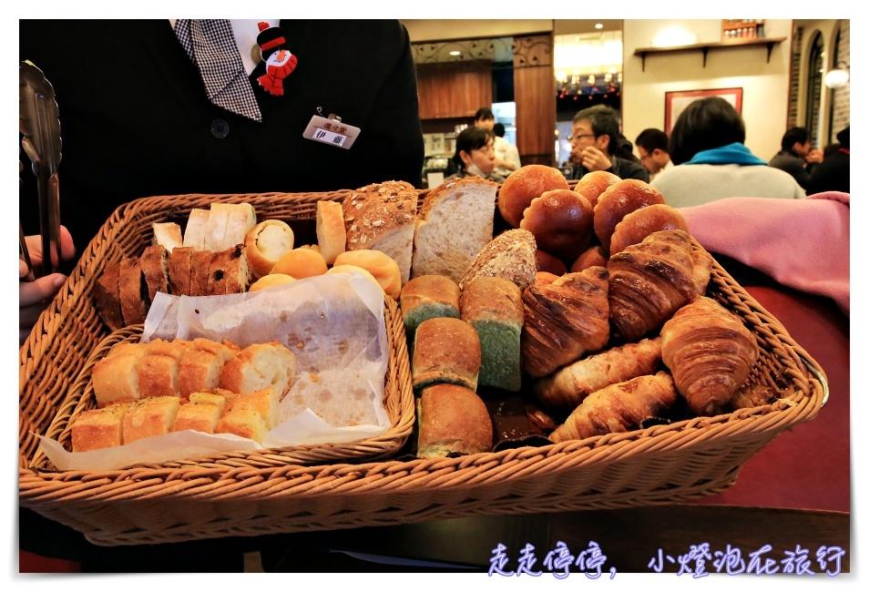即時熱門文章:京都第一名早餐|進進堂三条河原町店,麵包籃吃到飽~進々堂,京都百年麵包店