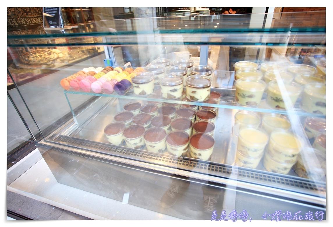威尼斯美食|提拉米蘇ITre Mercanti venezia,永遠客滿的好吃甜點~