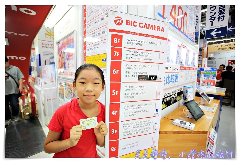 東京市區地鐵72小時券 走,去Bic camera有樂町店買地鐵票!