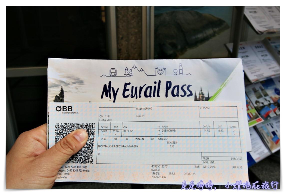 如何判斷自己的歐洲自助旅行要不要買歐洲火車通行證的五大要點~