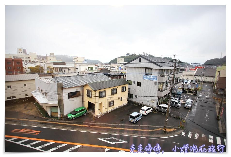 九州佐伯住宿|hotel route inn Saiki Ekimae。最近火車站的新式飯店,附大浴場、近大型Aeon超市~