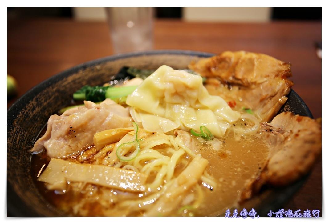 成田機場美食|空海拉麵。濃厚豚骨口味、受日本人歡迎乾式拉麵~