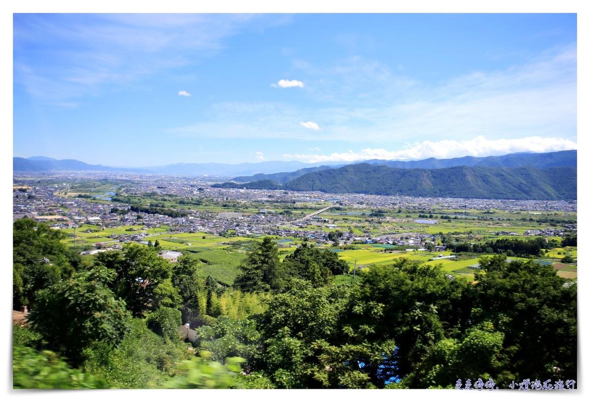 日本特色車站 日本三大車窗之一:長野-姨捨站~美好的山景車站景觀~