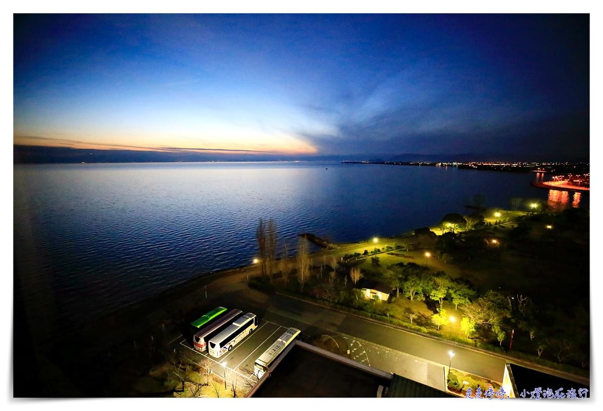 滋賀長濱住宿推薦|Hotel & Resorts NAGAHAMA。長濱皇家飯店,正對琵琶湖美景飯店~