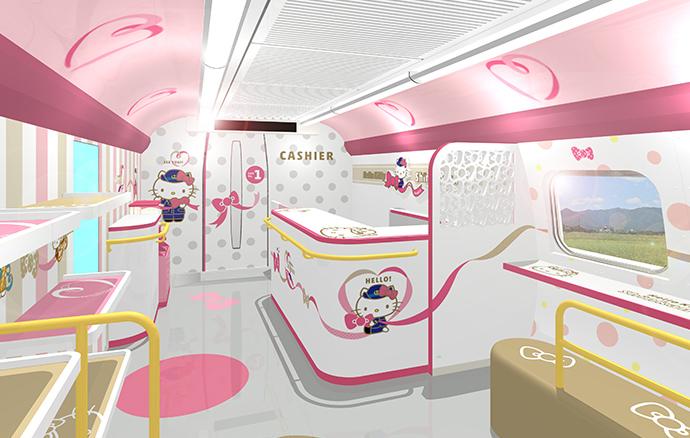 Hello Kitty新幹線即將登場!2018.6.30起往回博多~新大阪區間~西日本旅客鐵道重力出擊!